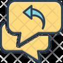 Respond Response Repercussion Icon