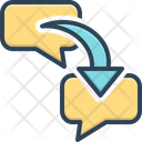 Respond Chat Bubble Icon
