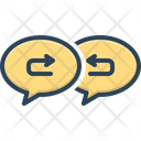 Response Arrow Return Icon