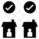 Responsibility Quarantine Lockdown Icon