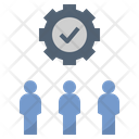 Responsible Teamwork Success Icon