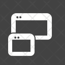 Responsive Web Layout Icon