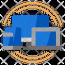 Responsive Computer Design Icon