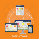 Responsive Browsing Searching Icon