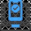 Responsive Computer Mobile Icon