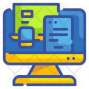 Responsive Tablet Computer Icon
