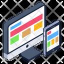 Responsive Web Responsive Design Adaptive Design Icon