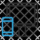 Responsive Design Monitor Icon