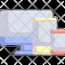 Responsive Devices Computer Icon