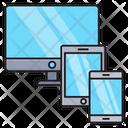 Responsive Screen Web Icon