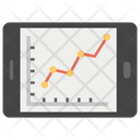 Responsive Graph Growth Chart Graphical Analysis Icon