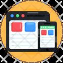 Responsive Web Responsive Design Adaptive Web Icon