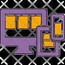 Responsive Web Design Seo Rwd Icon