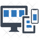 Responsive Web Design Management Business Icon