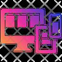 Responsive Web Design Seo User Interface Plasticity Icon