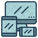 Responsive Web Website Icon
