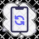 Restart Mobile Flip Icon