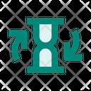 Hourglass Restart Icon