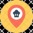 Restaurant Location Map Icon