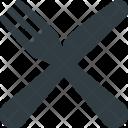Restaurant Symbol Fork Icon