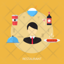 Restaurant Holiday Recreation Icon