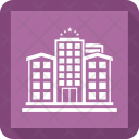Building Hotel Travel Icon