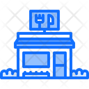 Food Delivery Restaurant Icon