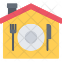 House Food Delivery Icon
