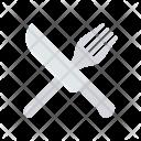 Restaurant Fork Spoon Icon
