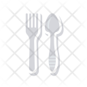 Resturant Fork Spoon Icon
