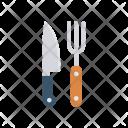 Restaurant Knife Kitchen Icon