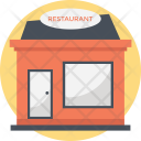 Eating House Building Icon