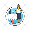Restaurant Hotel Service Icon