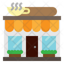 Restaurant Store Coffee Shop Icon