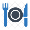 Fork Plate Knife Icon
