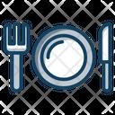 Cutlery Silver Cutlery Fork Knife Icon