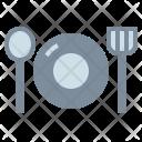 Dinner Cutlery Dish Icon