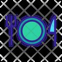 Hotel Kitchen Restaurant Icon