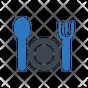 Restaurant Hotel Fork Icon