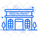 Restaurant Eating House Eatery Icon