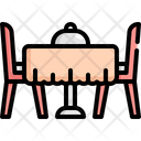 Table Food Buffet Icon
