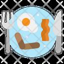 Breakfast Food Fried Icon
