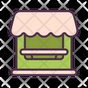 Shop Restaurant Deliver Icon