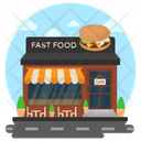 Restaurant Fast Food Junk Food Icon