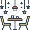 Restaurant Eating Place Eatery Icon
