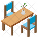 Restaurant Hotel Table Dining Table Icon
