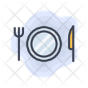 Airport Plate Knife Icon