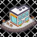 Cafeteria Cafe Restaurant Icon