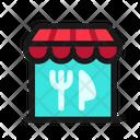 Restaurant Eatery Seller Icon