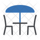 Restaurant Dining Table Icon